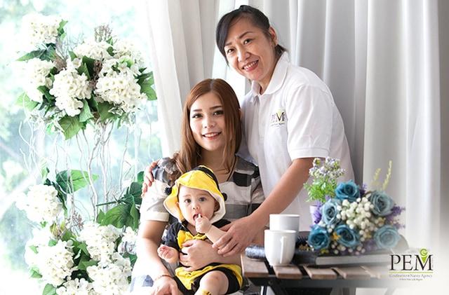 PEM confinement nanny in Singapore