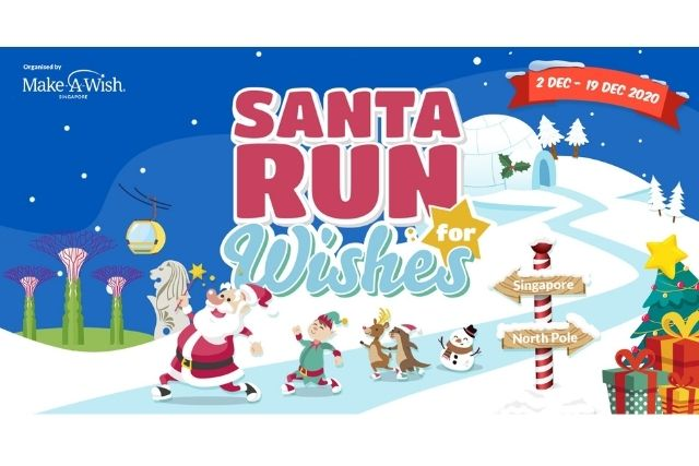 Santa Run For Wishes Returns In 2020 (Virtual)