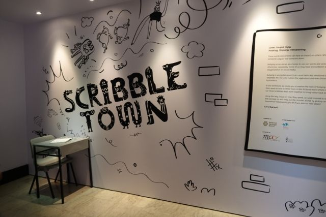 Scribble Town Exhibition