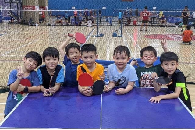Singapore Table Tennis Association Holiday Camp
