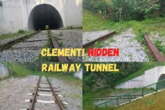 Relatively Hidden Clementi Road Railway Tunnel Singapore