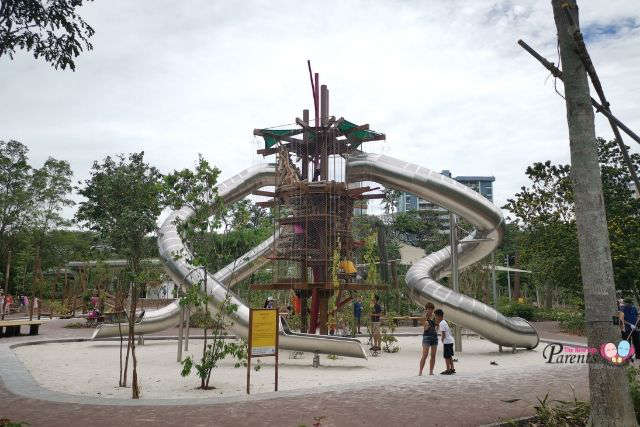Jurong Lake Gardens Playground Forest Ramble (Children's Playgarden)