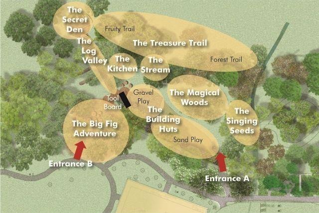 nature playgarden hortpark map