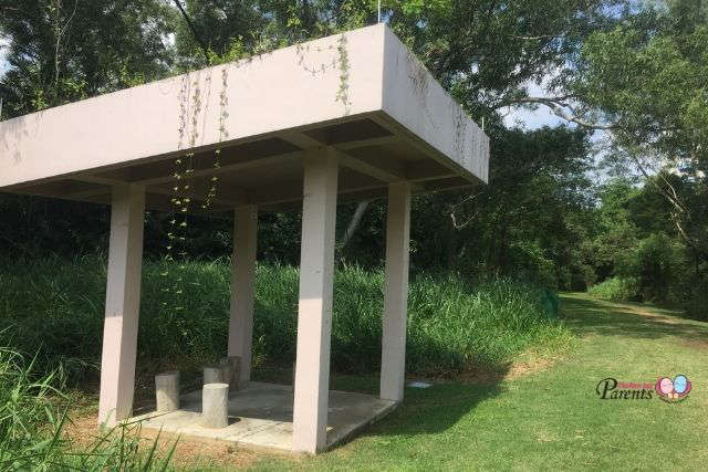 tampines eco green shelter in nature trail