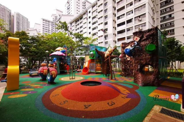 Alice in Wonderland Children Playground
