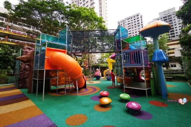 Alice in Wonderland Outdoor Playground