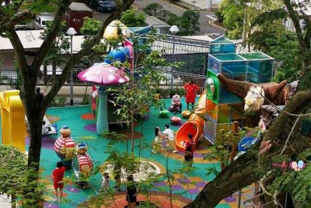 Alice in Wonderland Playground Queenstown