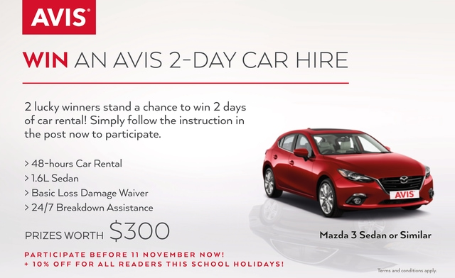 Avis Car Rental Singapore