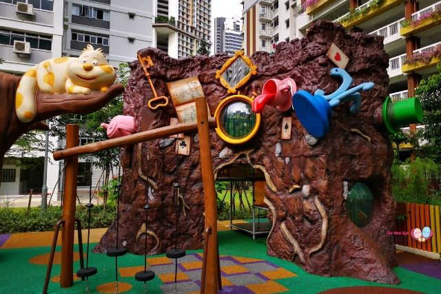 Dawson Vista Alice in Wonderland Playground