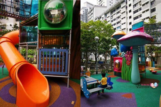 Dawson Vista Outdoor Wonderland playground
