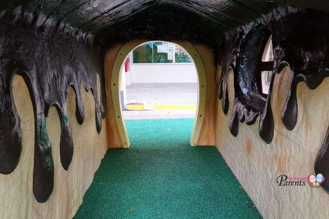 Hansel and Gretel Playground Clementi Inside Candy House