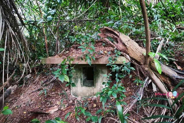 Kay Siang Bunkers 2 Ventilation Shaft