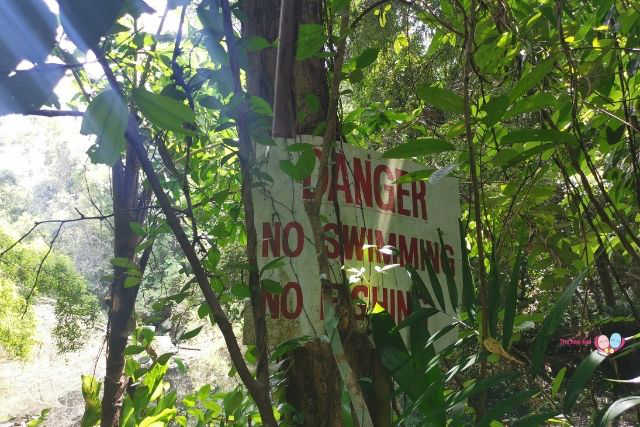 Keppel Hill Reservoir No Swimming Sign