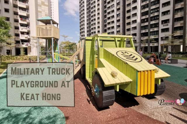 Military Truck playground Keat Hong