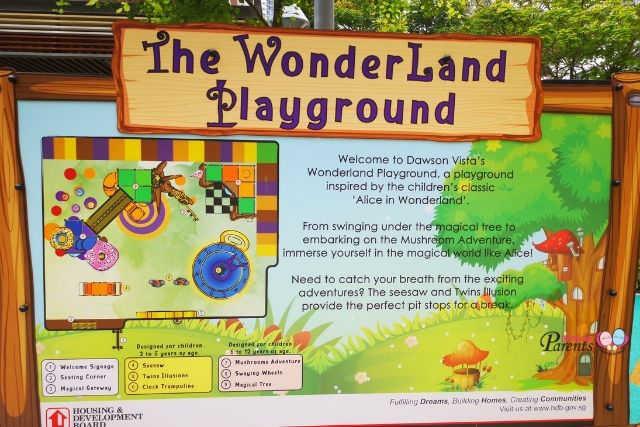 Queenstown Dawson Alice in Wonderland Playground