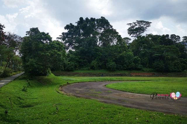 Running Track beside KaySiang Bunkers