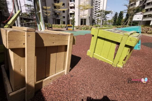 colourful crates truck playground choa chu kang