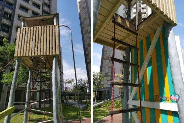 lookout tower army truck playground singapore