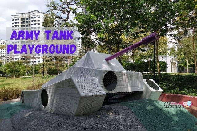 Army Tank Playground Choa Chu Kang Keat Hong