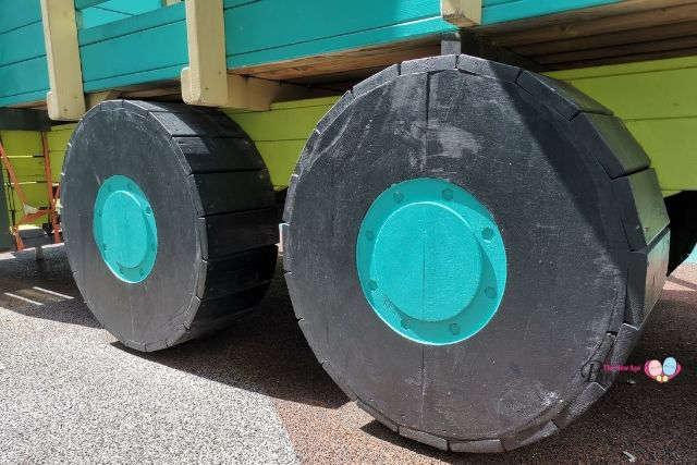 truck wheels outdoor playground CCK
