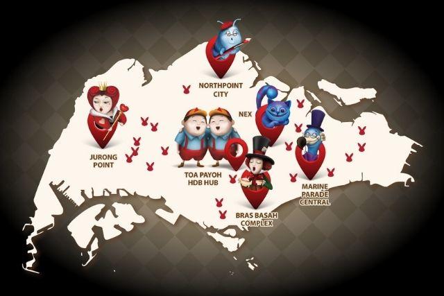 BookFest@Singapore Alice in Wonderland