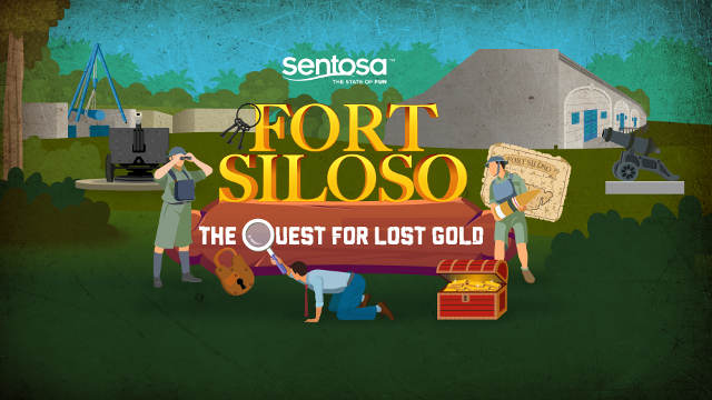 Fort Siloso - The Quest for Lost Gold Dec 2020