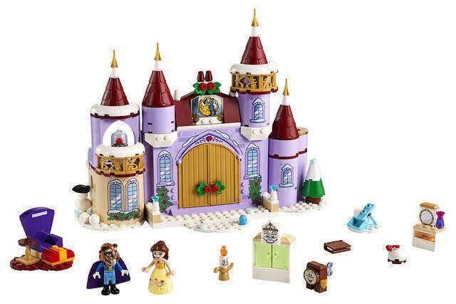 LEGO Disney Belle's Castle Winter Celebration