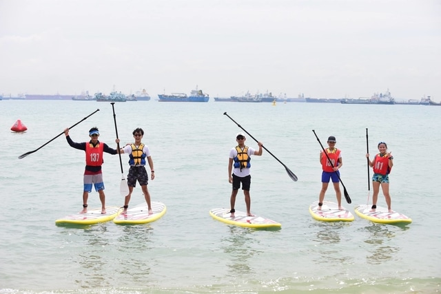 Stand-up Paddling Water Sports in Singapore