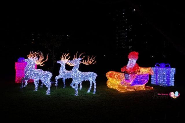 festival of lights at jurong lake gardens Christmas Fantasy