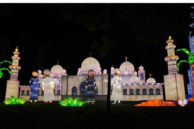 festival of lights at jurong lake gardens UAE