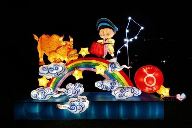 festival of lights at jurong lake gardens zodiac