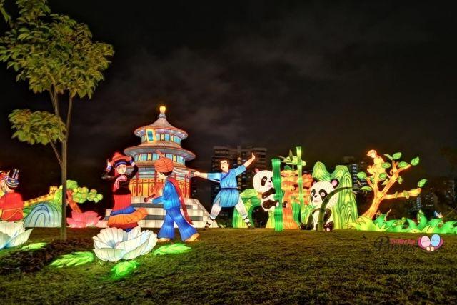 jurong lake gardens festival of lights china