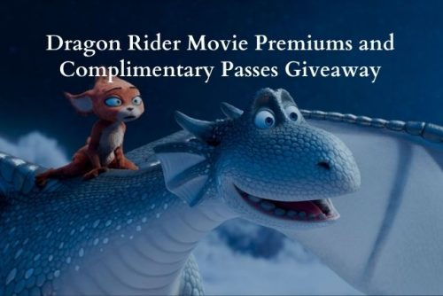 Dragon Rider Movie Premiums and Complimentary Passes Giveaway