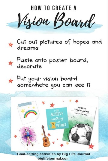 Goal-setting activities for kids