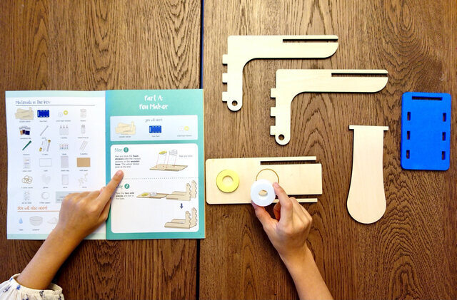 Tinkerer Box Creative Hands-on STEM projects for kids