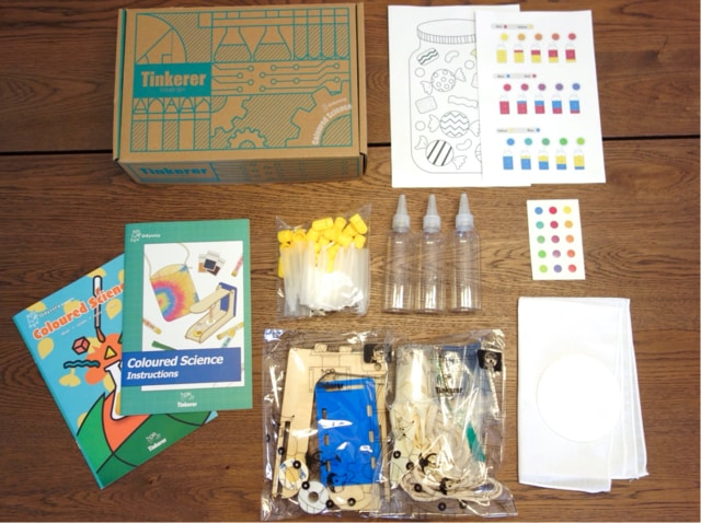 Tinkerer Box Science and Engineering Projects