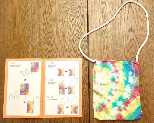 Tinkerer Box Tie Dye Bag for Children