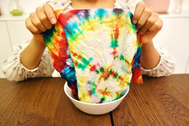 Tinkerer Box Tie Dye Bag for kids