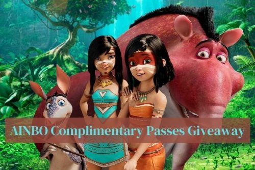 AINBO Complimentary Passes Giveaway