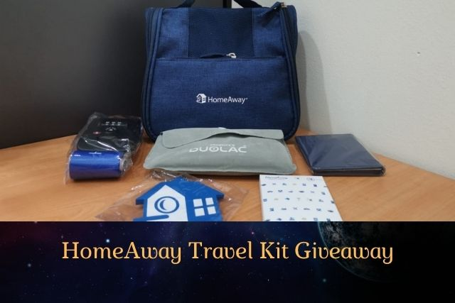 HomeAway Travel Kit Giveaway