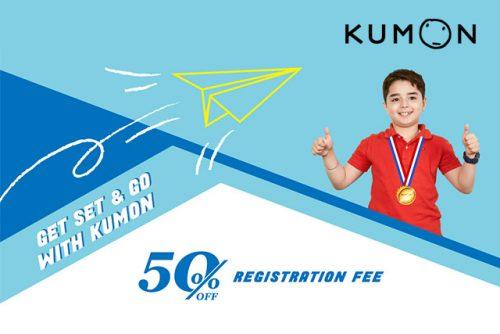 Kumon Feb Mar 2021 Promotion