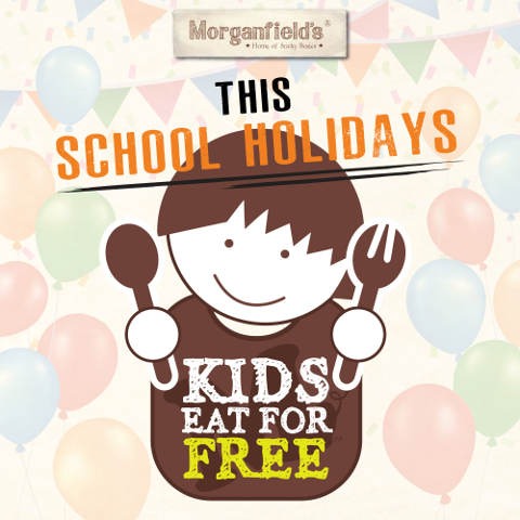Morganfields Kids Eat For Free