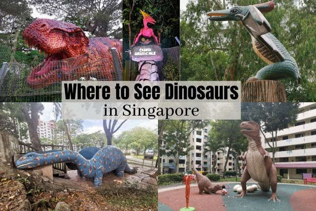 Where to See Dinosaurs in Singapore