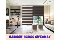 TNAP x mc2 Rainbow Blinds Giveaway