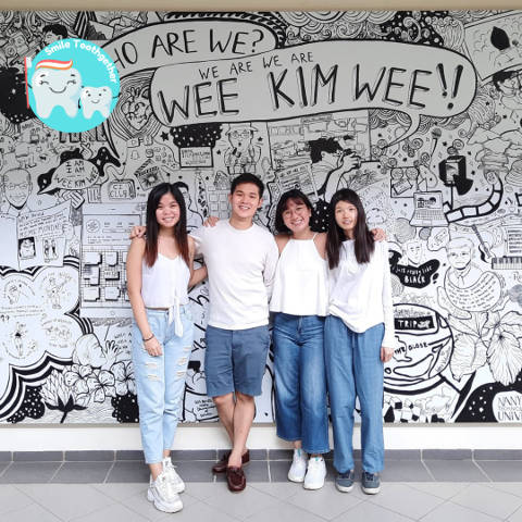students from NTU's Wee Kim Wee School of Communication and Information