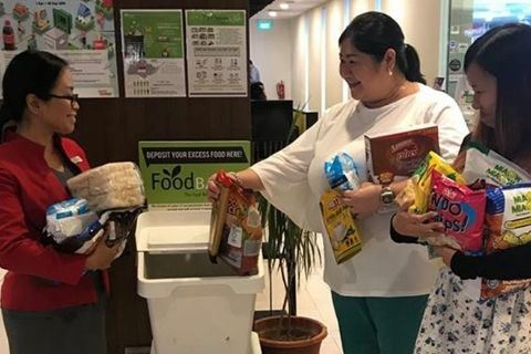 Food Bank Singapore Malls of Frasers Property