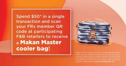 Frasers Makan Master cooler bag