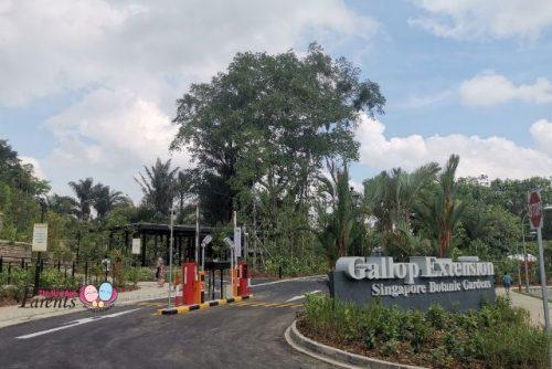 Gallop Extension @ Singapore Botanic Gardens entrance
