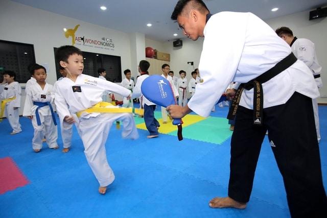 Taekwondo classes for kids singapore