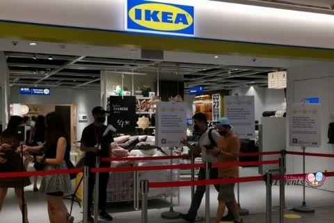 IKEA JEM entrance